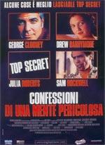 Cover CD Confessioni di una mente pericolosa