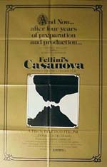 Cover CD Il Casanova di Federico Fellini
