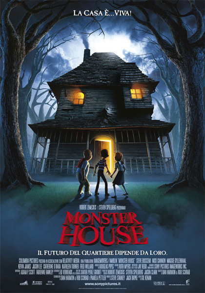 Locandina del film Monster House