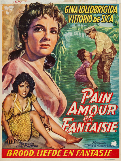 Pane, amore e fantasia (1953) streaming film megavideo