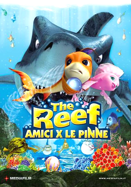 locandina The Reef - Amici per le pinne