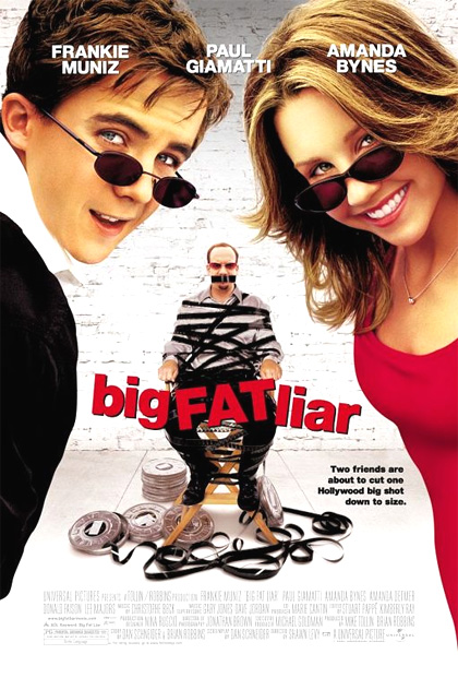 Locandina del film Big Fat Liar. Una grossa bugia a Hollywood