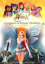 Locandina Winx il film - Il segreto del regno perduto