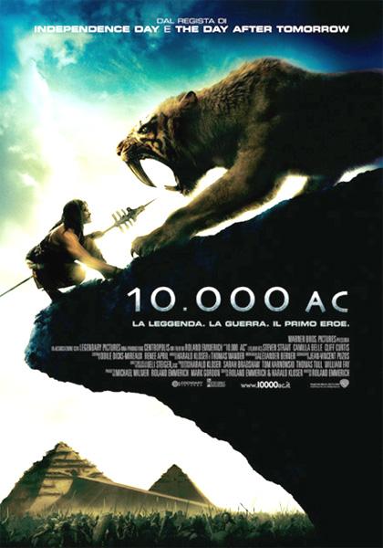 10,000 A.C. Locandina