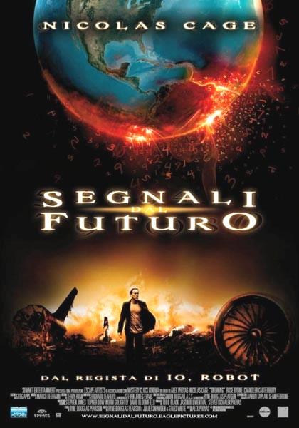 Locandina italiana Segnali dal futuro