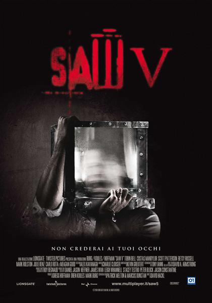 Saw V (2008) Locandina