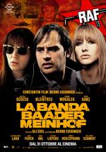Locandina La banda Baader Meinhof