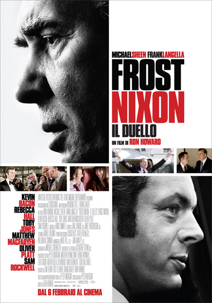 Locandina italiana Frost/Nixon - Il duello