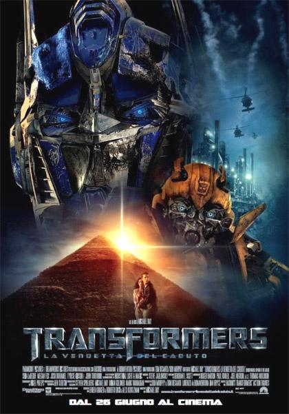 Transformers 2 La vendetta del caduto
