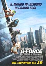 Locandina G-force - Superspie in missione