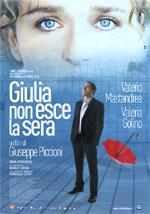 Cover CD Giulia non esce la sera