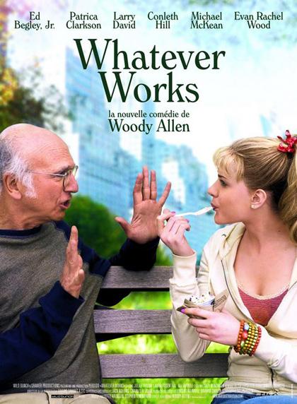 Poster Whatever Works - Basta che funzioni