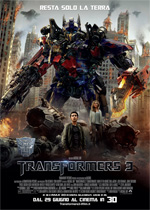 Cover della colonna sonora del film Transformers 3v