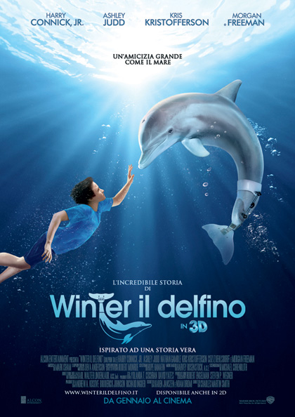 L'incredibile storia di Winter il delfino in 3D