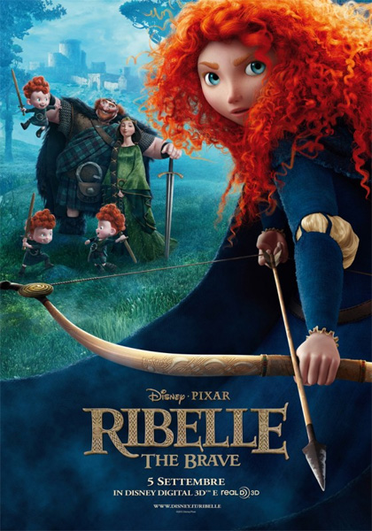 Locandina del film Ribelle - The Brave