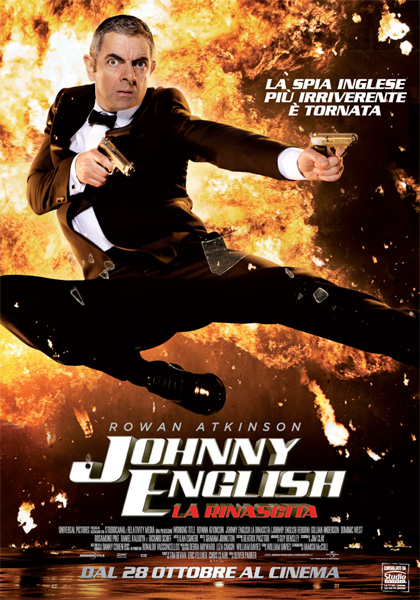 Locandina del film Johnny English � La Rinascita