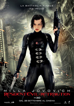 Cover CD Resident Evil: Retribution