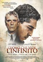 cinema Civitavecchia Tarquinia - L'uomo che vide l'infinito