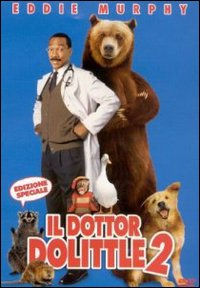 Cover Dvd Il dottor Dolittle 2