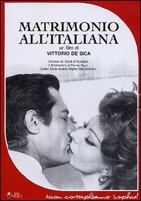 Cover Dvd Matrimonio all'italiana (DVD)