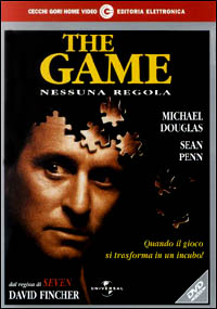 Cover Dvd The Game. Nessuna regola