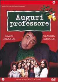 Cover Dvd Auguri professore