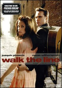 Cover Dvd Quando l'amore brucia l'anima. Walk the line