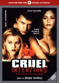 Dvd Cruel Intentions - Prima regola: non innamorarsi (1999)
