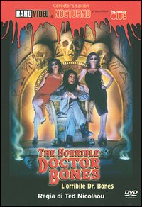 Cover Dvd The Horrible Doctor Bones. L'orribile dr. Bones