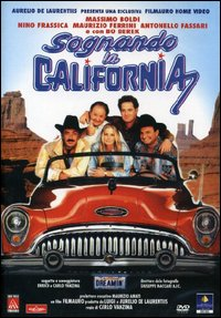 Cover Dvd Sognando la California