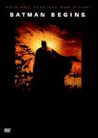 Cover Dvd Batman Begins (2 DVD)