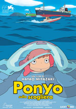 Locandina Ponyo on the Cliff by the Sea